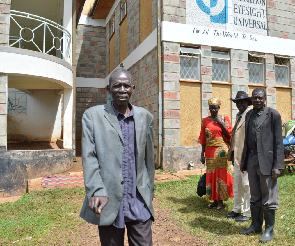 Kenyan man is cured of cataracts
