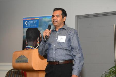 Kashinath Bhoosnurmath, Operation Eyesight's Global Director of Programmes
