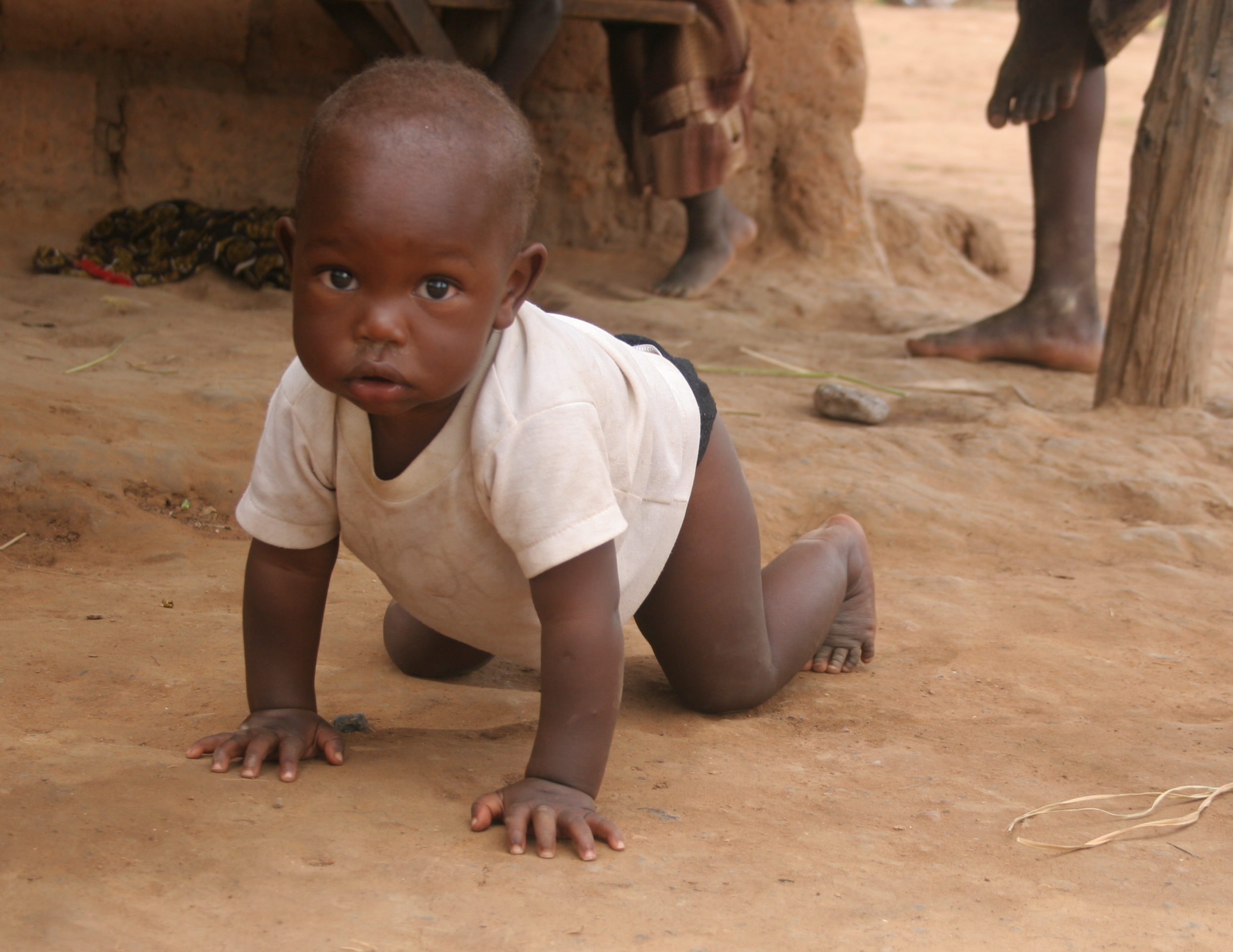 Babies in Zambia have fresh water thanks to Operation Eyesight's supporters