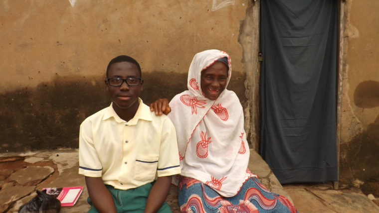 Young boy in Ghana receives eyeglasses free of charge thanks to Operation Eyesight program